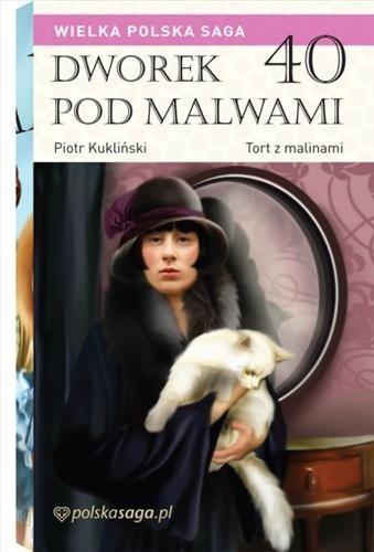 Okładka książki Tort z malinami