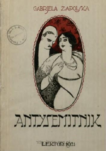 Okładka książki Antysemitnik. Powieść