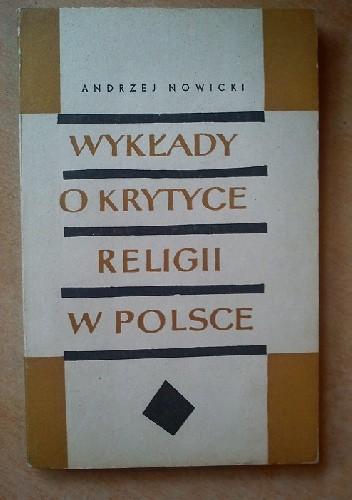 Okładka książki Wykłady o krytyce religii w Polsce
