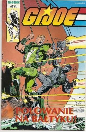 Okładka książki G.I. Joe 1/1993