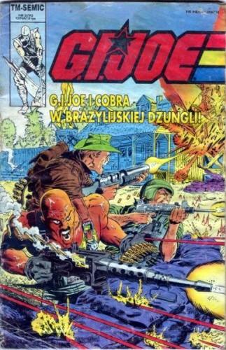 Okładka książki G.I. Joe 2/1993