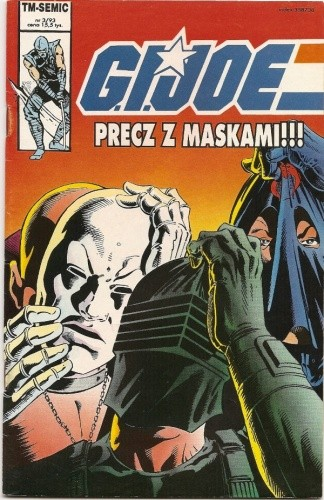 Okładka książki G.I. Joe 3/1993