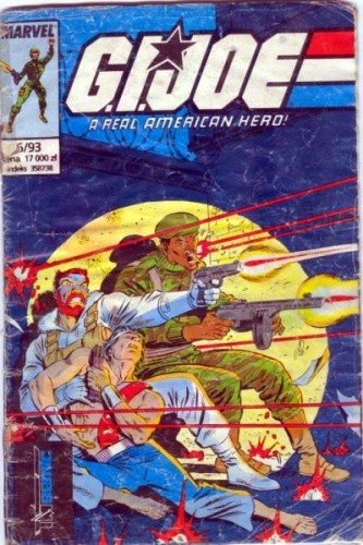 Okładka książki G.I. Joe 6/1993