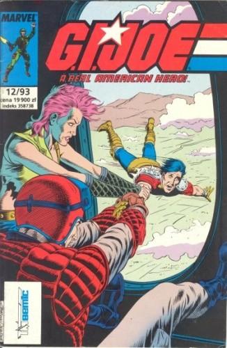 Okładka książki G.I. Joe 12/1993