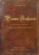 """Okładka książki Prawa sukcesu. Tom I i Tom II (""""SuperUmysł"""" i """"Określony Cel główny"""")"""