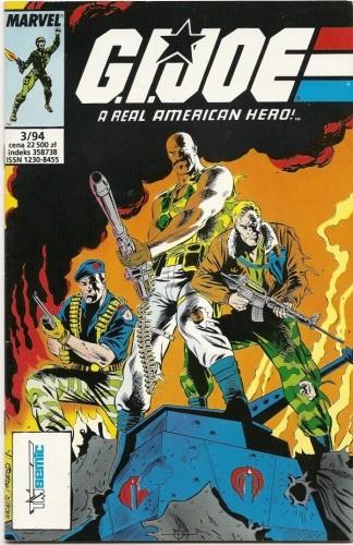 Okładka książki G.I. Joe 3/1994