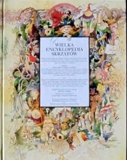 Okładka książki Wielka encyklopedia skrzatów
