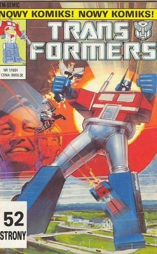 Okładka książki Transformers 1/1991