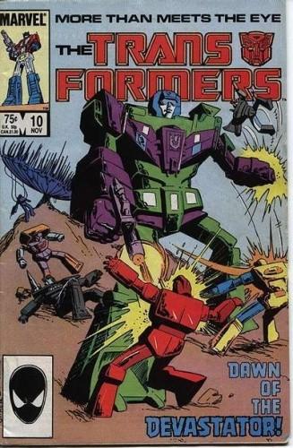 Okładka książki Transformers 2/1992