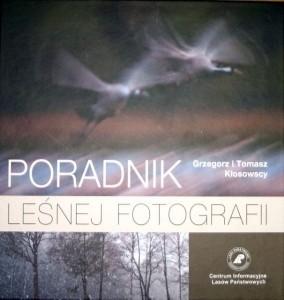 Okładka książki Poradnik leśnej fotografii