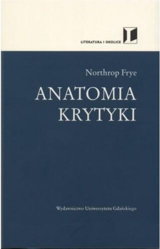Okładka książki Anatomia krytyki