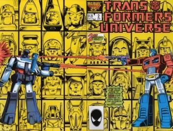 Okładka książki Transformers 4/1992