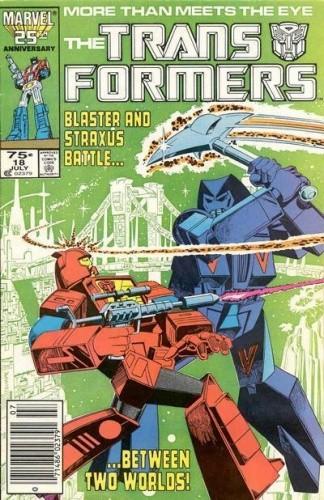 Okładka książki Transformers 5/1992