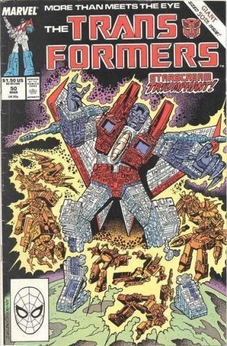 Okładka książki Transformers 3/1993