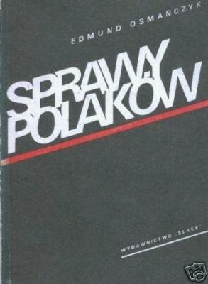 Okładka książki Sprawy Polaków