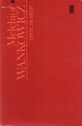 Okładka książki Dwie prawdy