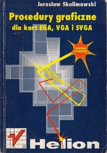 Okładka książki Procedury graficzne dla kart EGA, VGA i SVGA