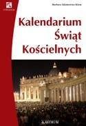 Okładka książki Kalendarium świąt kościelnych.