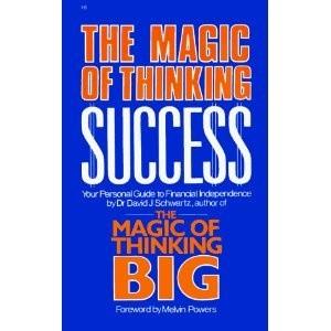 Okładka książki Magia myślenia kategoriami sukcesu