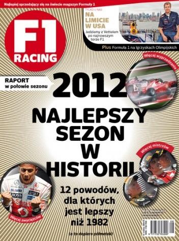 Okładka książki F1 racing nr 97