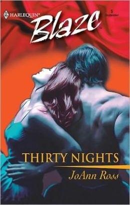 Okładka książki Thirty Nights