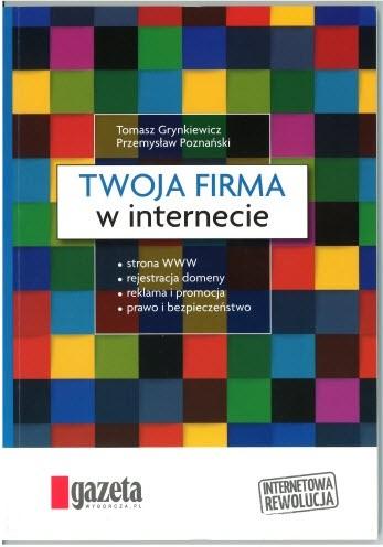 Okładka książki Twoja firma w internecie