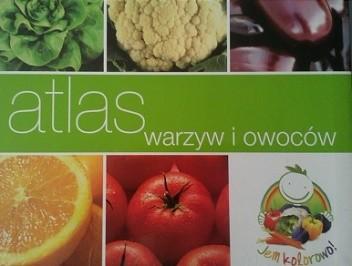 Okładka książki Atlas warzyw i owoców