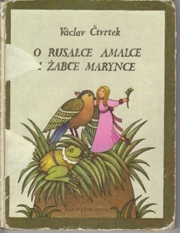 Okładka książki O rusałce Amelce i żabce Marynce