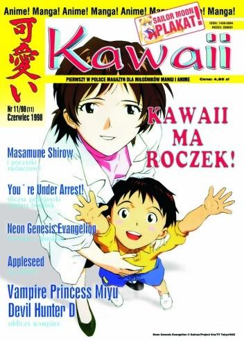 Okładka książki Kawaii nr 11 (czerwiec 1998)