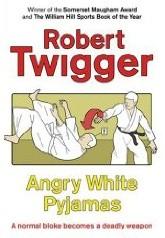 Okładka książki Angry White Pyjamas