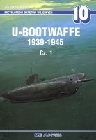 Okładka książki U-bootwaffe 1939-1945, cz.1