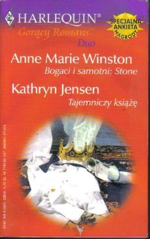 Okładka książki Bogaci i samotni: Stone; Tajemniczy książę