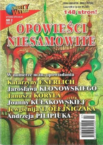Okładka książki Opowieści niesamowite, nr 2/2012