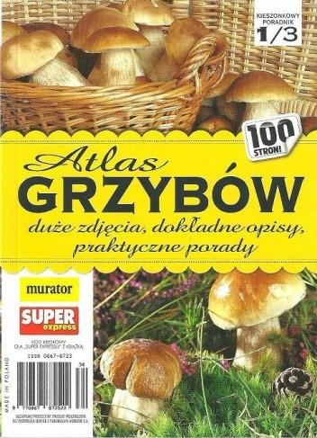 Okładka książki Atlas grzybów