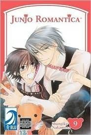 Okładka książki Junjou Romantica vol. 9
