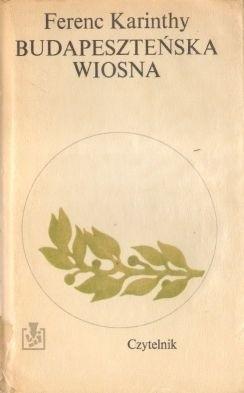 Okładka książki Budapeszteńska wiosna