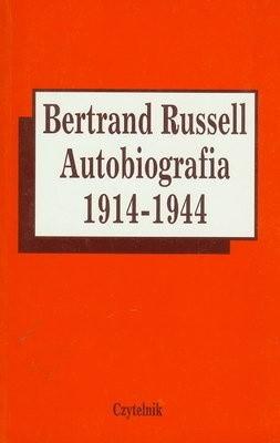 Okładka książki Autobiografia 1914 - 1944
