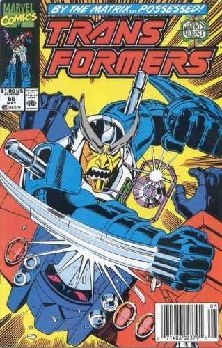 Okładka książki Transformers 5/1994