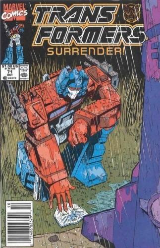 Okładka książki Transformers 1/1995