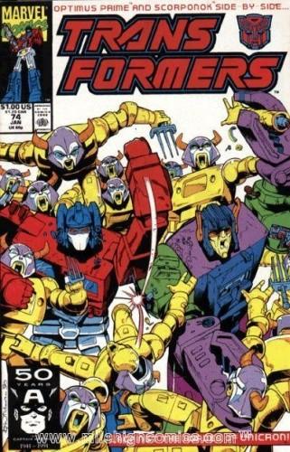 Okładka książki Transformers 3 / 1995