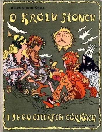 Okładka książki O królu Słońcu i jego czterech córkach
