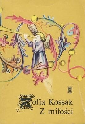 Okładka książki Z miłości