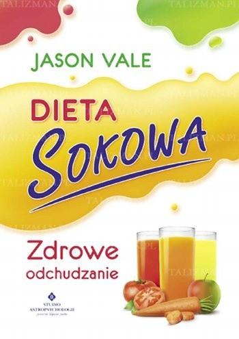 Okładka książki Dieta sokowa - zdrowe odchudzanie
