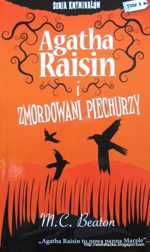 Okładka książki Agatha Raisin i zmordowani piechurzy