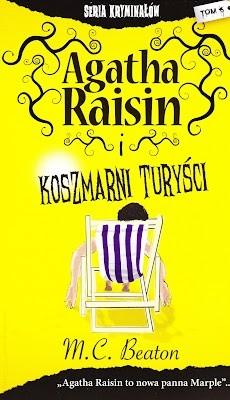 Okładka książki Agatha Raisin i koszmarni turyści