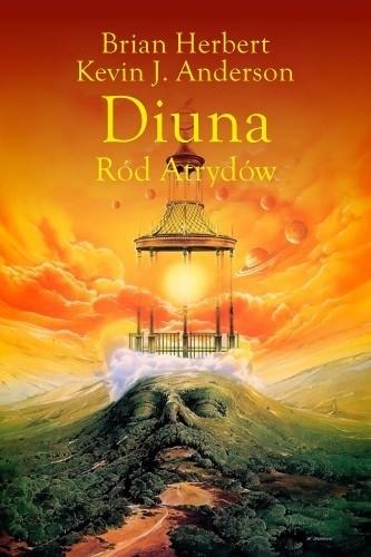 Okładka książki Diuna. Ród Atrydów