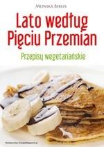 Okładka książki Lato według Pięciu Przemian. Przepisy wegetariańskie