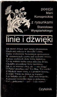 Okładka książki Linie i dźwięki