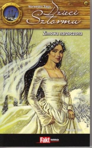 Okładka książki Zimowa narzeczona