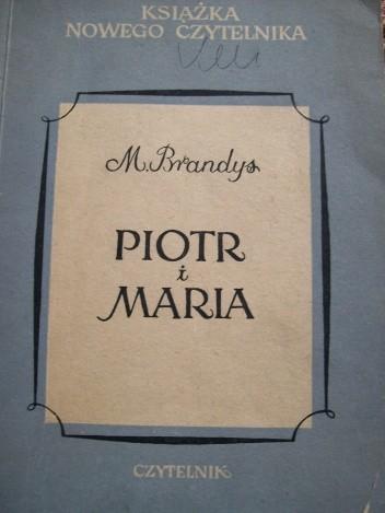 Okładka książki Piotr i Maria